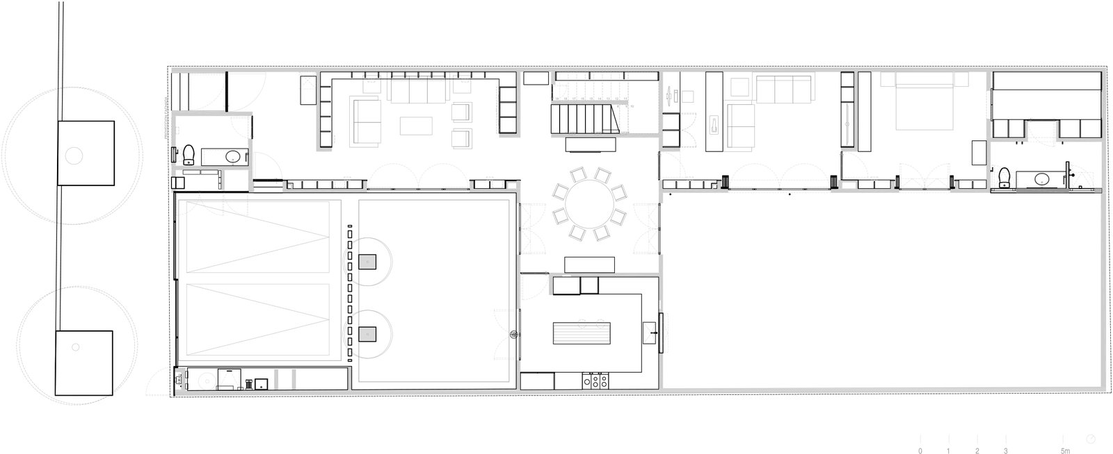 FIRST FLOOR PLAN  Casa Campestre 107 by DCPP
