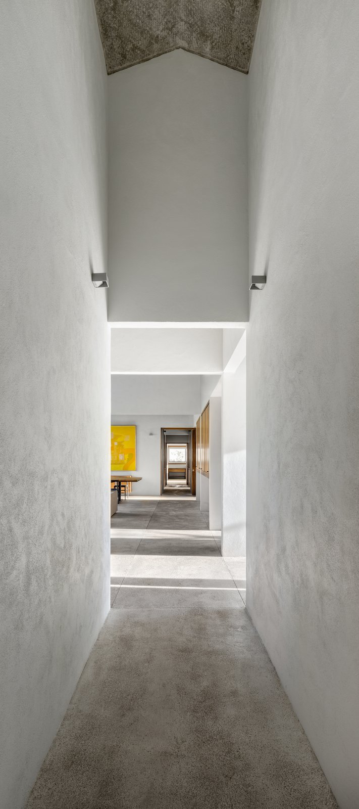 Tagged: Hallway and Limestone Floor.  Casa Paraíso Country Club by DCPP