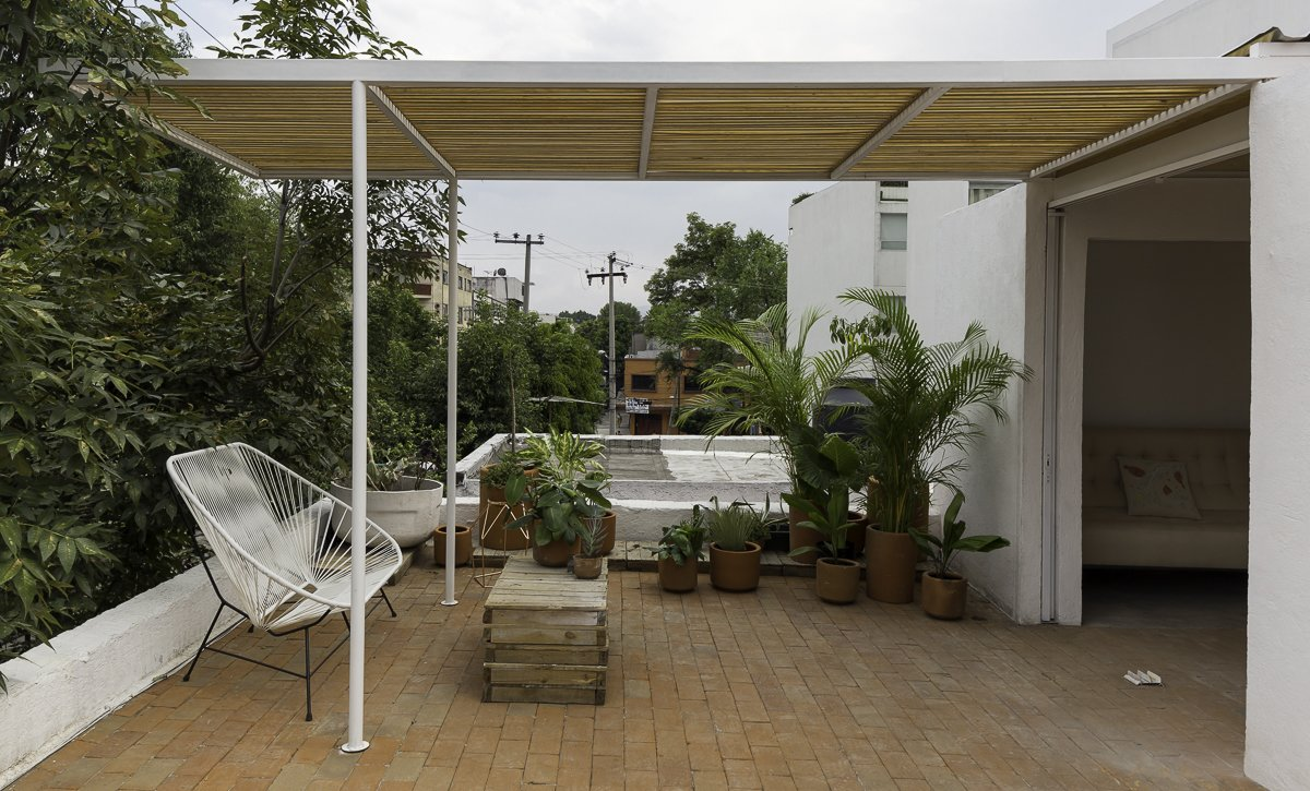 Terrace Tagged: Outdoor.  Narvarte Terrace by PALMA