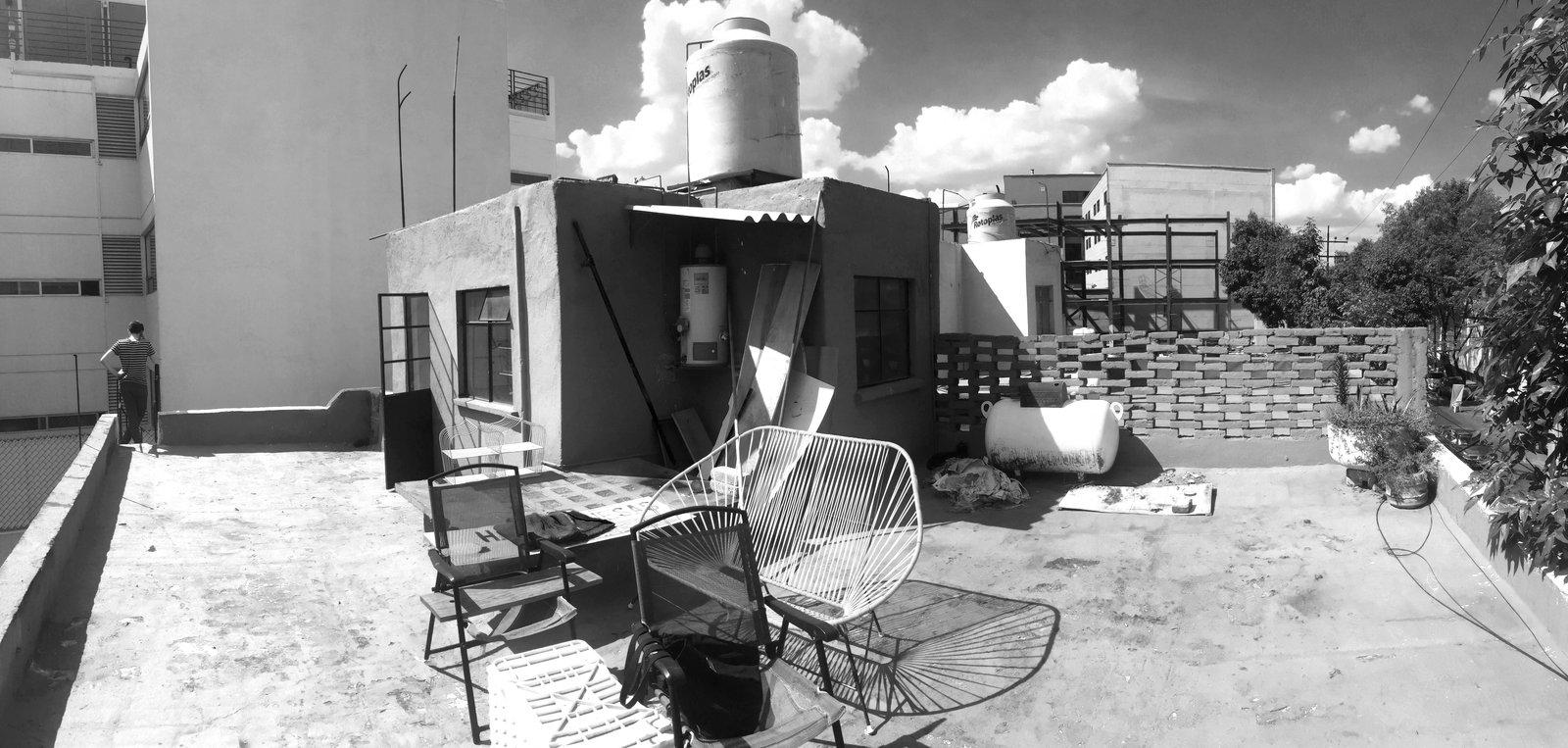 Before renovation Narvarte Terrace by PALMA