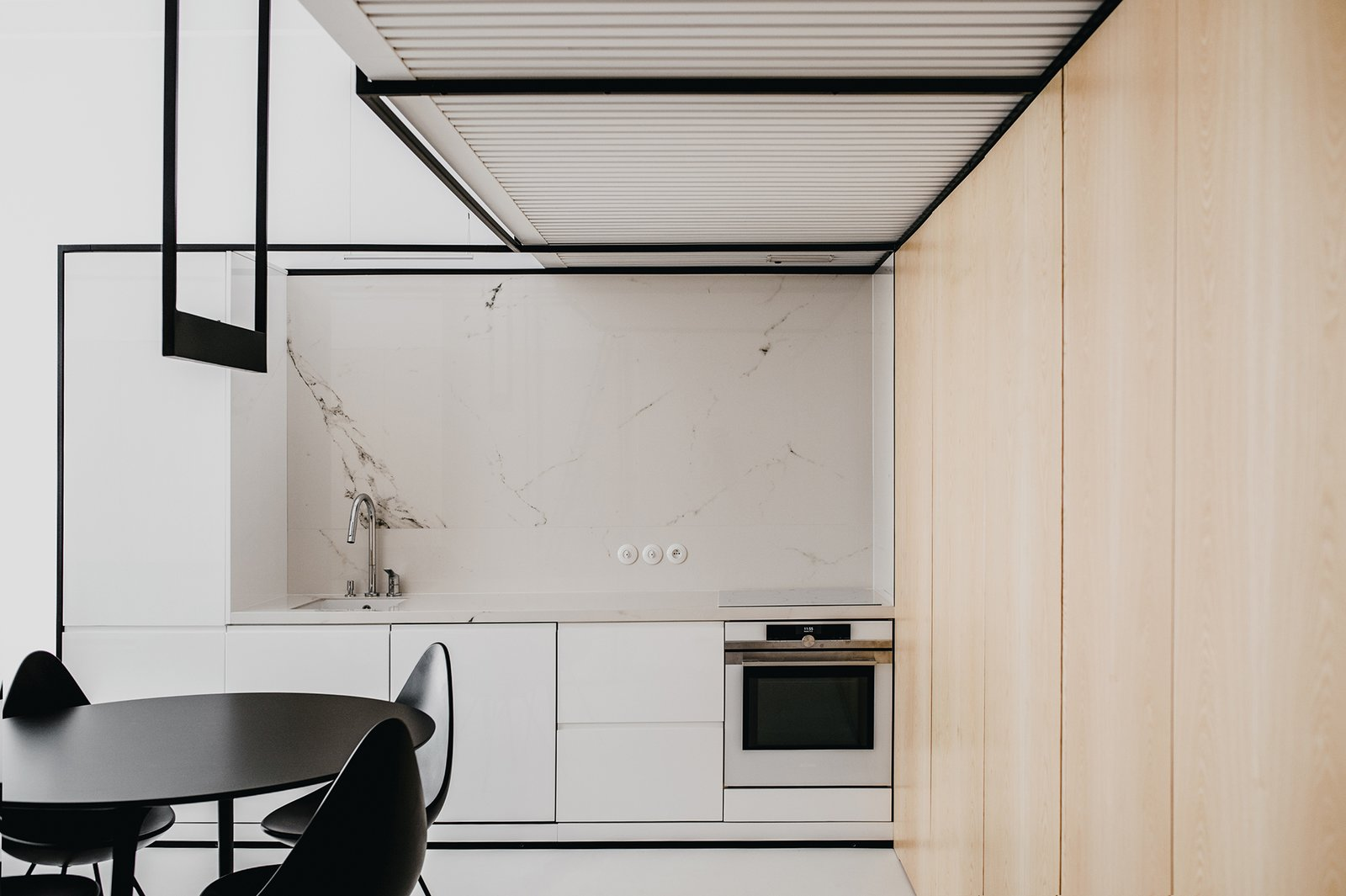Kitchen Tagged: Kitchen.  Wireframe by MUS ARCHITECTS