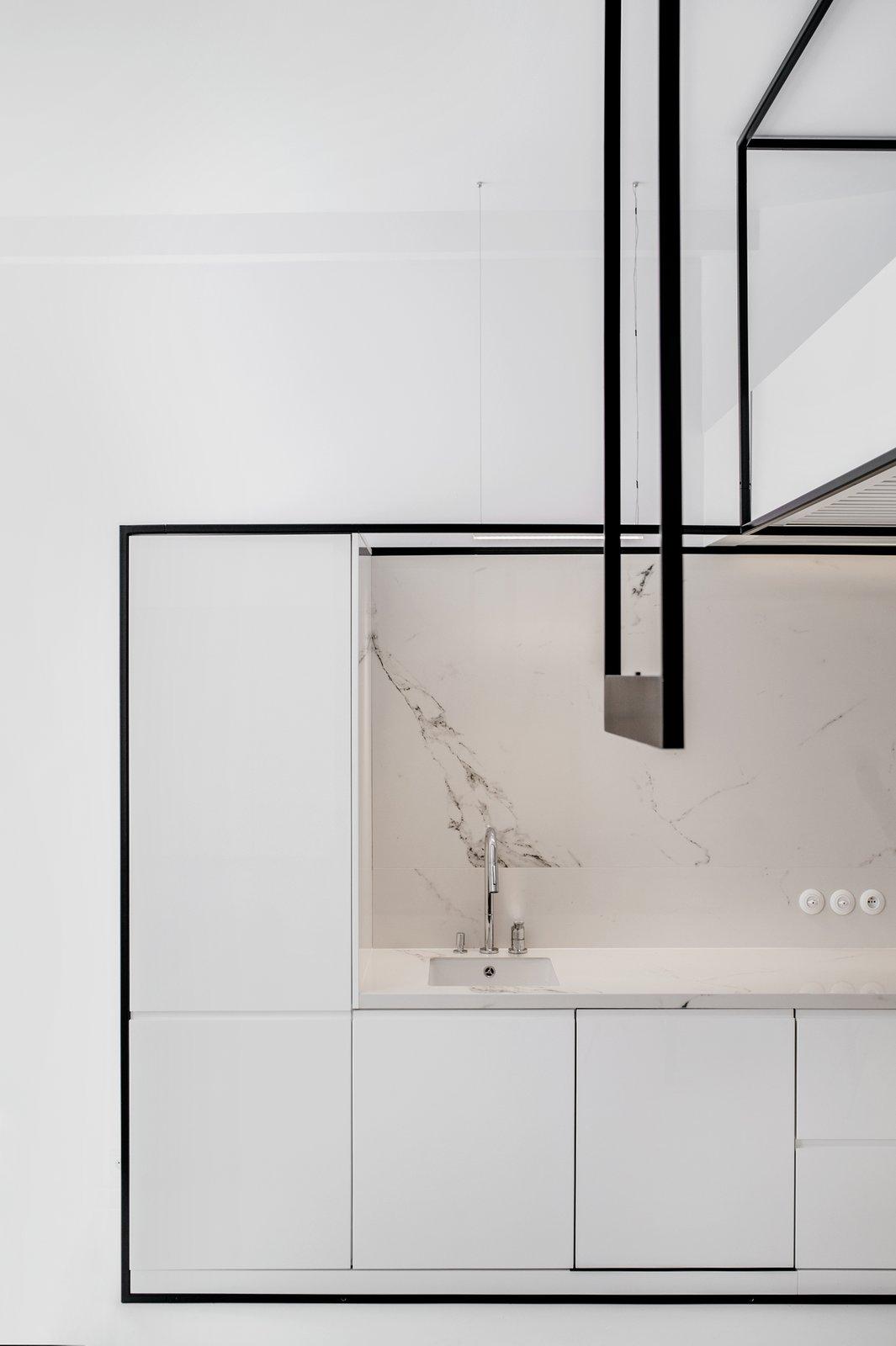 Kitchen Wireframe by MUS ARCHITECTS