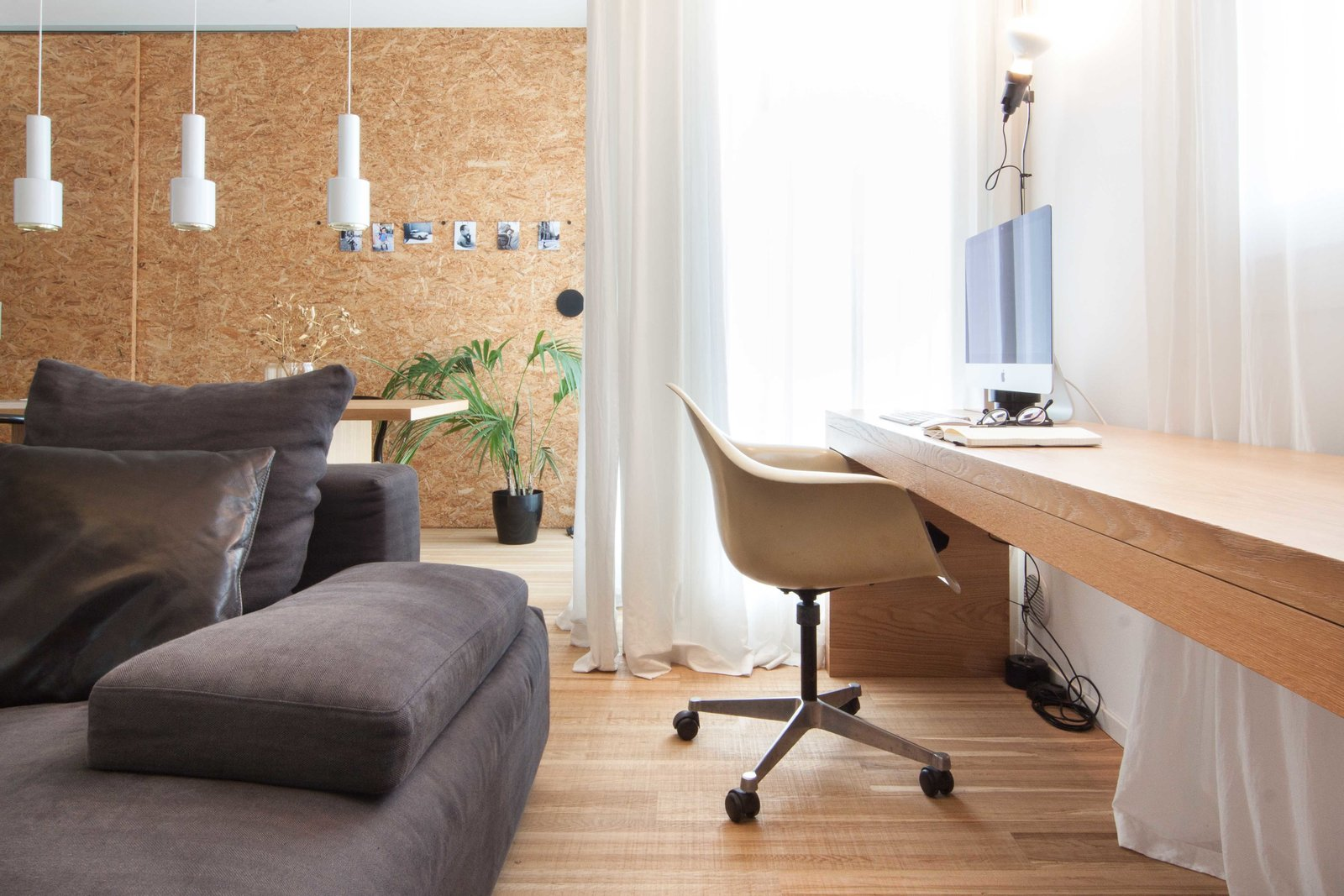 Tagged: Office, Chair, Lamps, Desk, Study, and Medium Hardwood Floor.  Interior LP by Didonè Comacchio