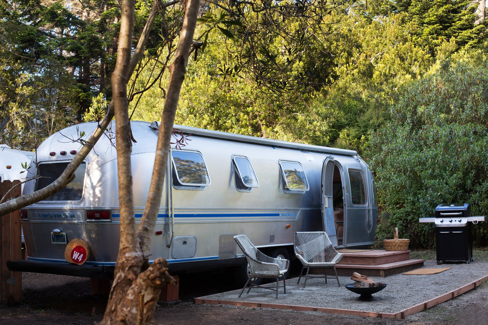 Tagged Exterior and Airstream Building Type. Photo 6 of 15 in C& Out in & Photo 6 of 15 in Camp Out in a Comfortable Tent or Airstream in ...