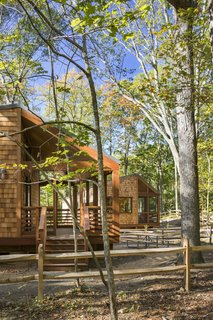 A Long Island Campground Gets a Bunch of New Modern Cabins - Photo 2 of 6 -