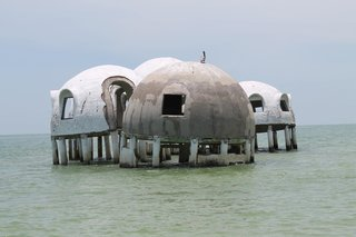 Discover Florida's Mysterious Dome Home Before It Sinks Into the Sea