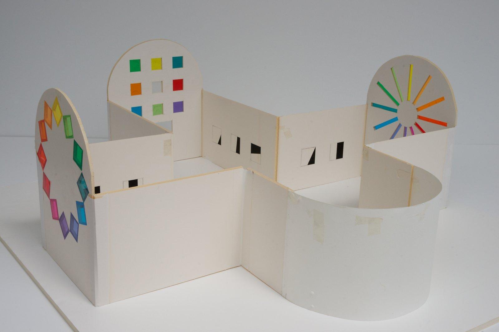 A model of the secular chapel.