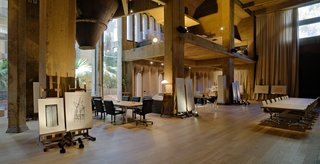 A Spanish Architect Converts a Cement Factory Into a Breathtaking Home and Headquarters - Photo 5 of 12 - The cathedral also is used for cultural events like concerts and lectures.