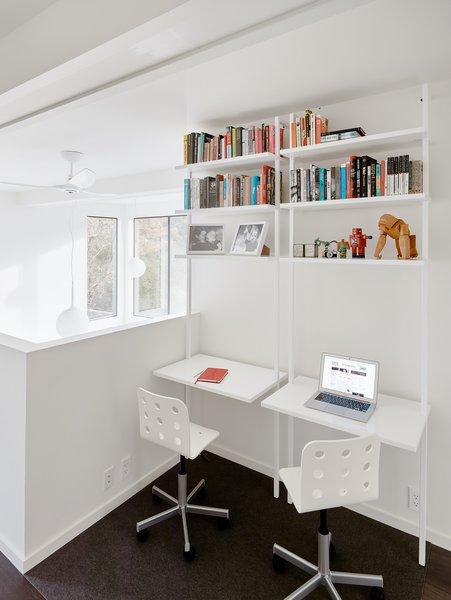 Modern study lounge.