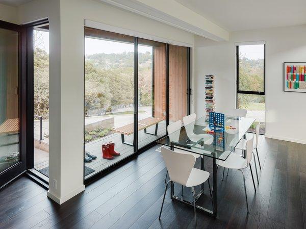 Modern family dining room.