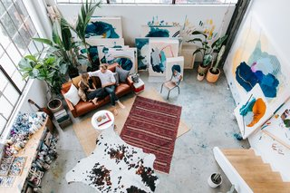 This Three-Level Loft in San Francisco Is an Artist's Sanctuary