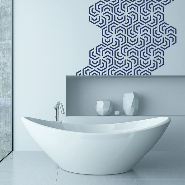 Polygon Wall Decal Panels