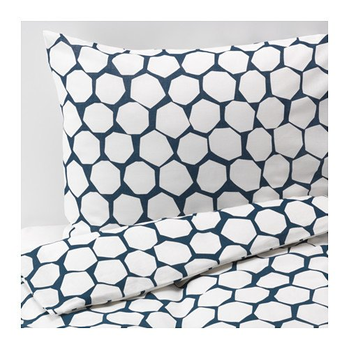 IKEA FLÖNG Duvet Cover and Pillowcases