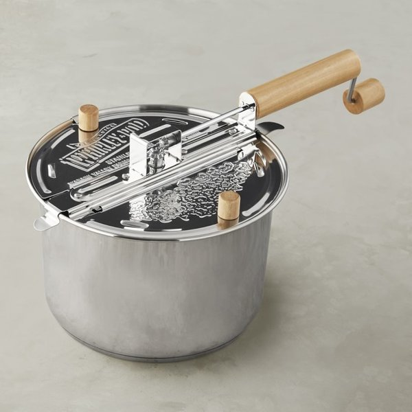 Whirley Stainless-Steel Induction Popcorn Maker