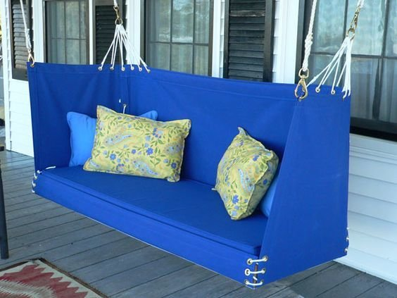 Penobscot Bay Porch Swing