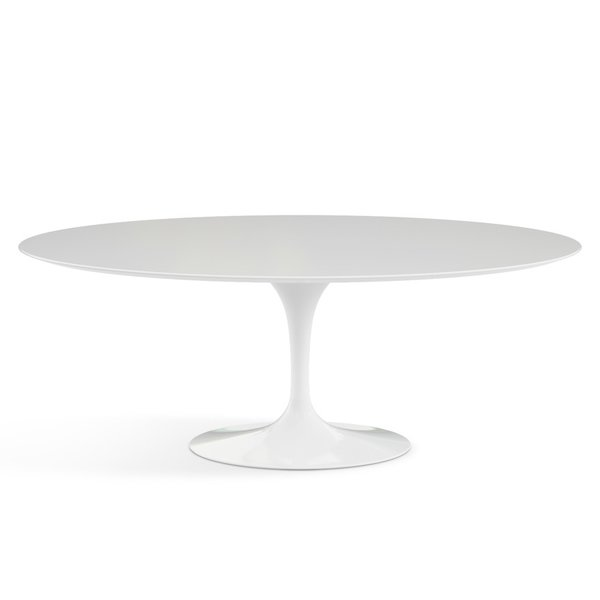 Saarinen 78-inch Oval Dining Table