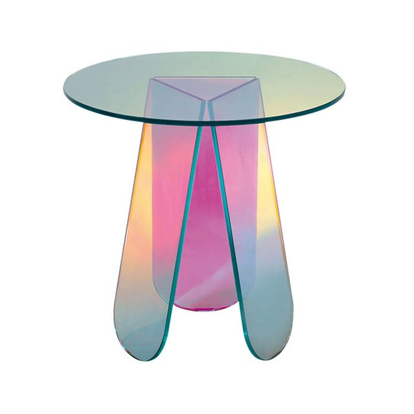 Glas Italia Shimmer Side Table