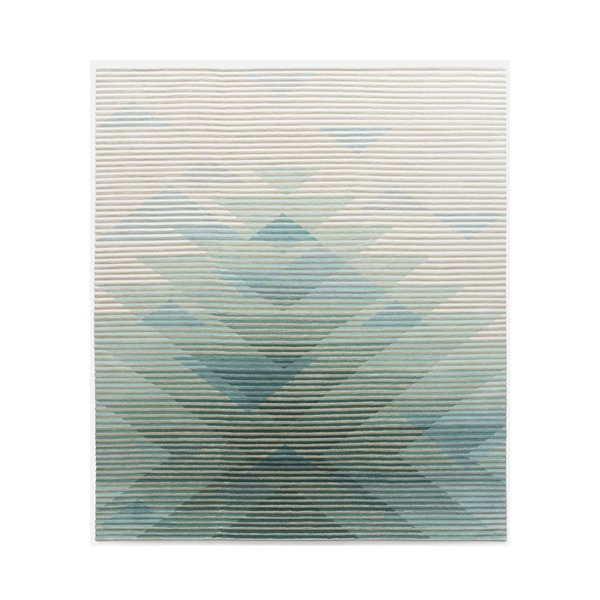 Raw Edges Lake Green Rug