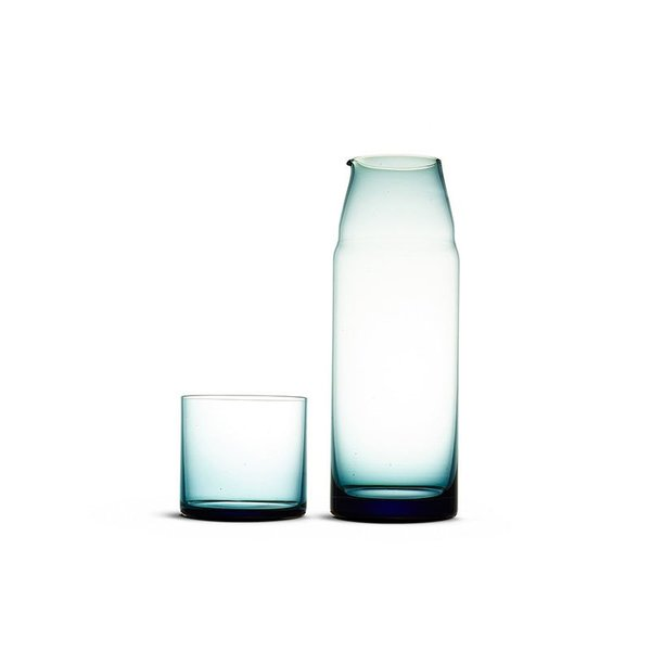 Sugahara Night Carafe, Indigo