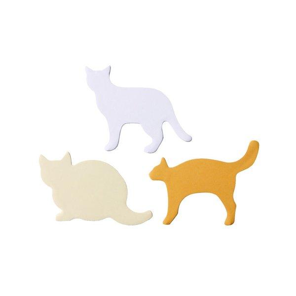 MUJI Stickies Memo: Cats