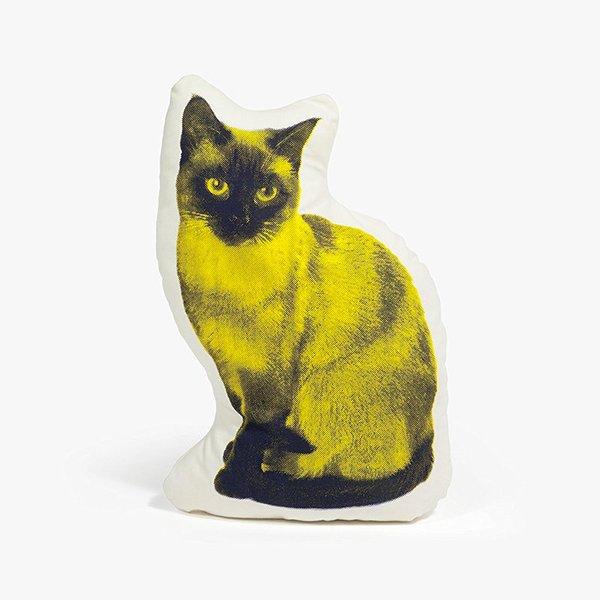 Areaware Siamese Cat Fauna Pillow