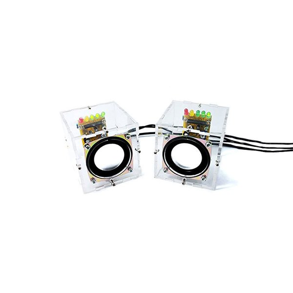 Gikfun Mini Electronic Stereo Speaker DIY Kit