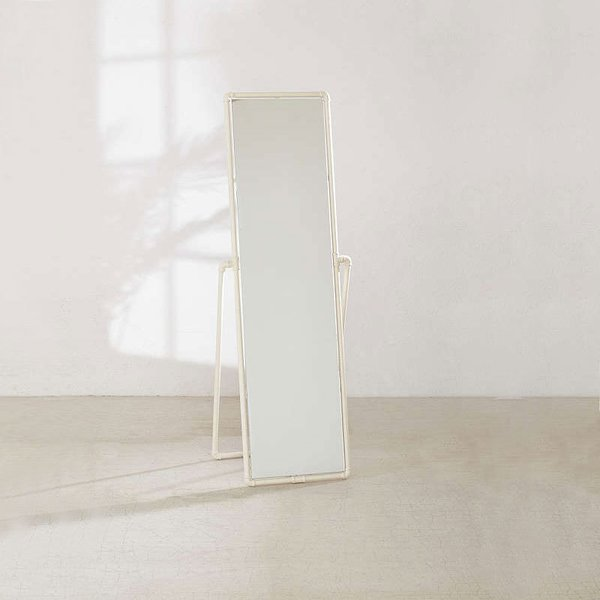 Pipe Standing Mirror