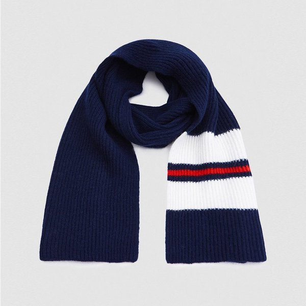 John Elliott School Scarf in Navy