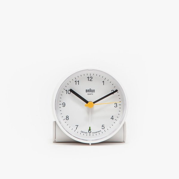 Braun BNC001 Alarm Clock in White