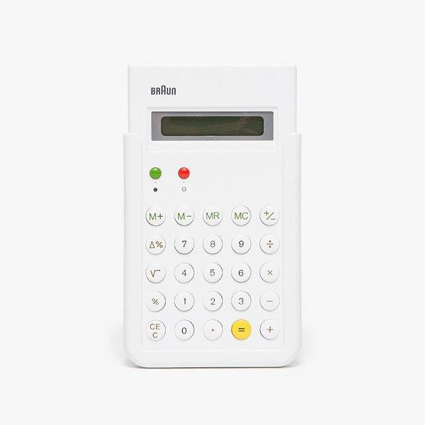 Braun Calculator in White