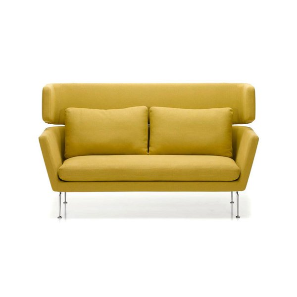 Vitra Suita Two Seater Sofa with Headrest Section