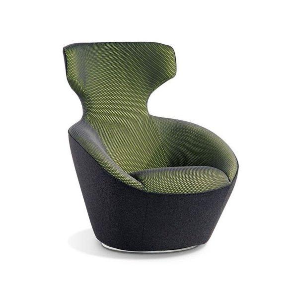 Roche Bobois Edito Lounge Pivoting Armchair