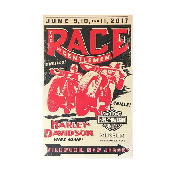 The Race of Gentlemen 6th Annual Poster - Limited HD