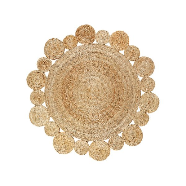 Armadillo & Co Flower Weave Rug - Daisy