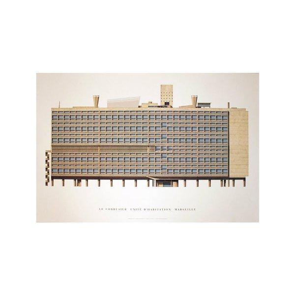 Unite d'Habitation, Marseille by Le Corbusier