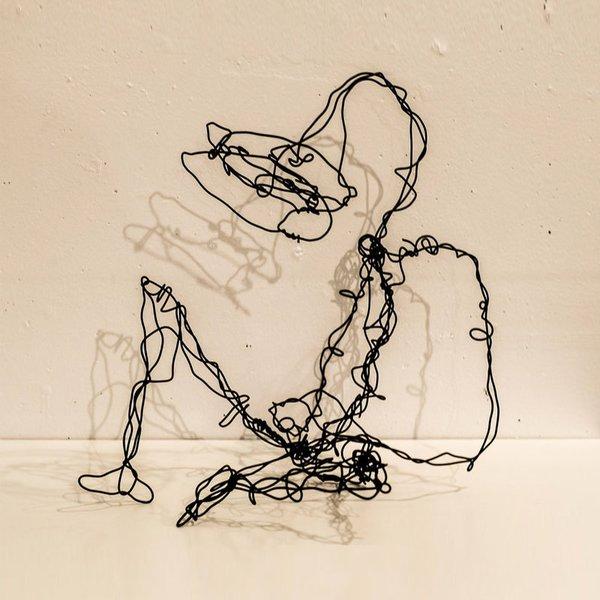 Wire Sculptures by Dan Criblez