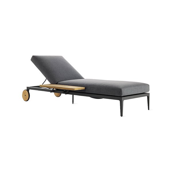 Gloster Grid Adjustable Outdoor Chaise