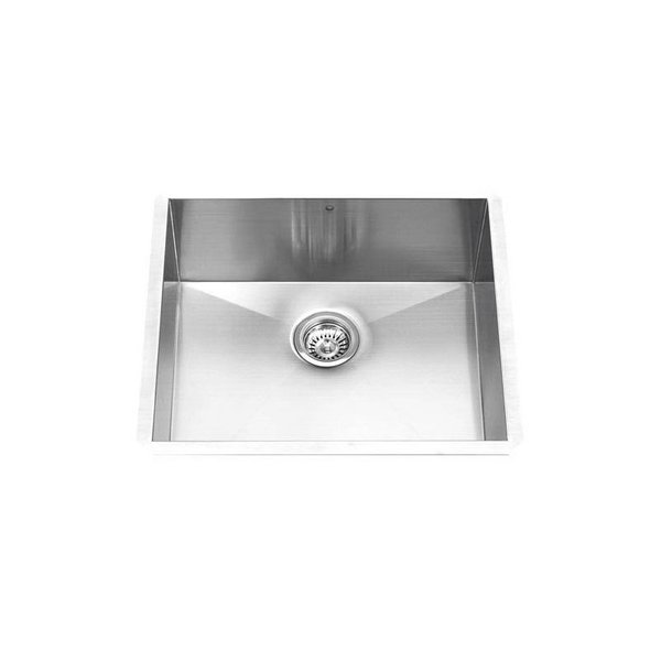 """Vigo 23"""" Undermount Stainless Steel Kitchen Sink"""