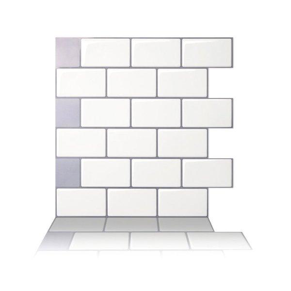 Tic Tac Tiles - Peel and Stick Wall Tile