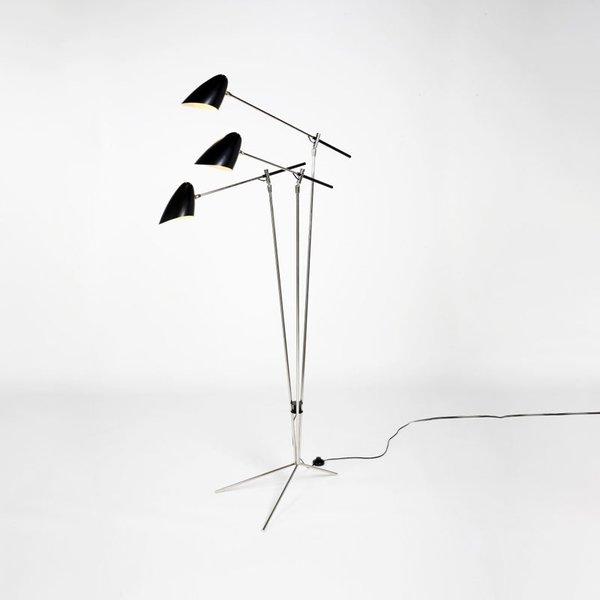 David Weeks Tripod No. 303 Floor Lamp
