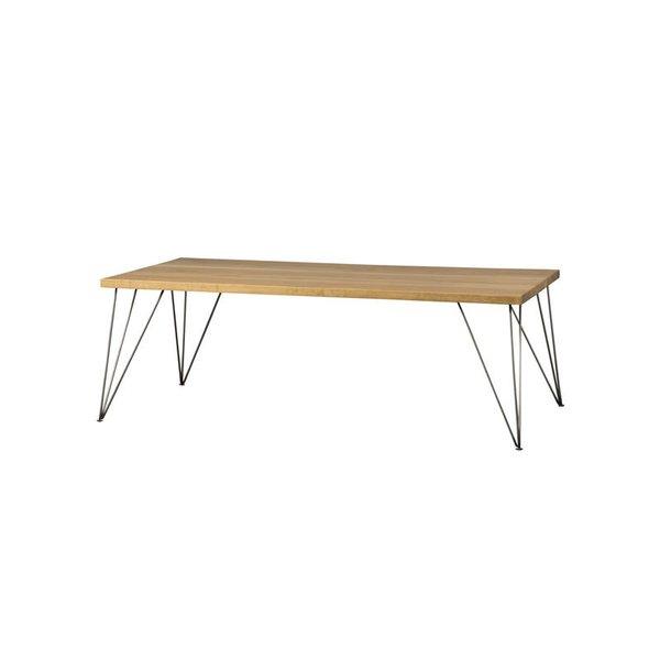 Hart Concrete Design Pin Leg Coffee Table
