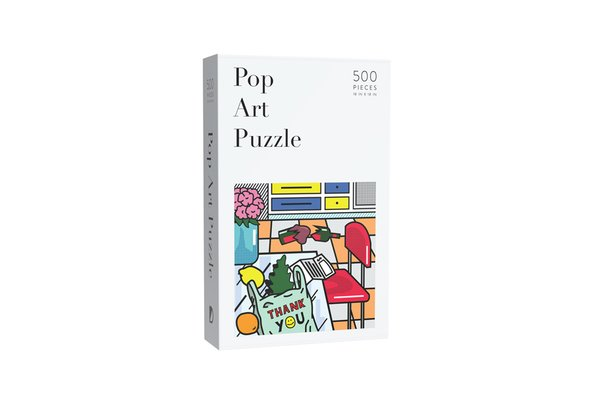POP ART 500-PIECE PUZZLE