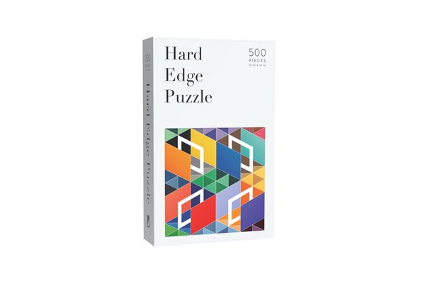 HARD EDGE 500-PIECE PUZZLE