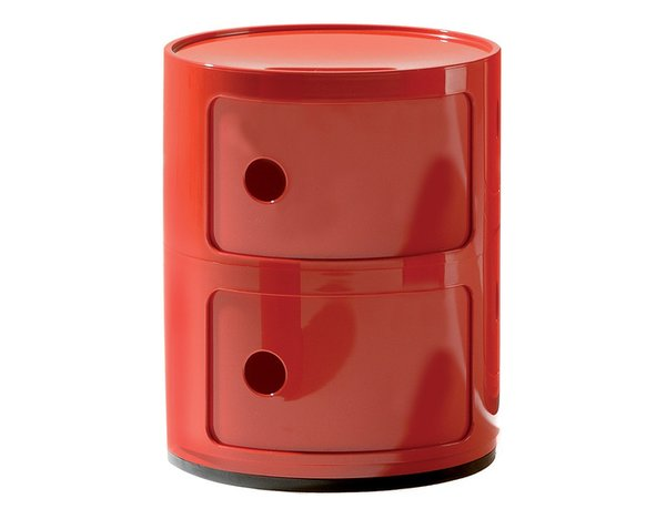 Kartell Red Componibili Storage Module