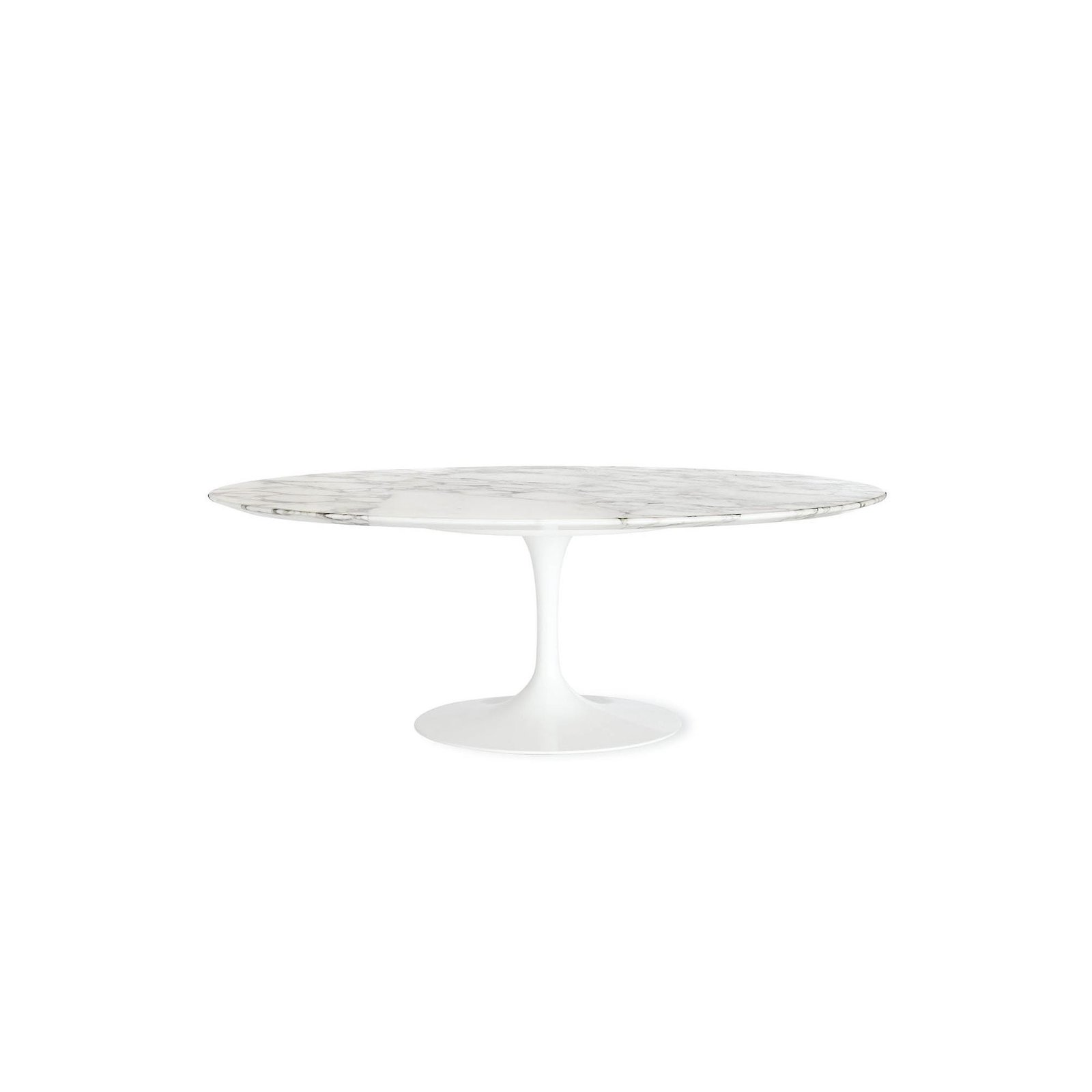 Saarinen low oval coffee table by design within reach dwell saarinen low oval coffee table geotapseo Choice Image
