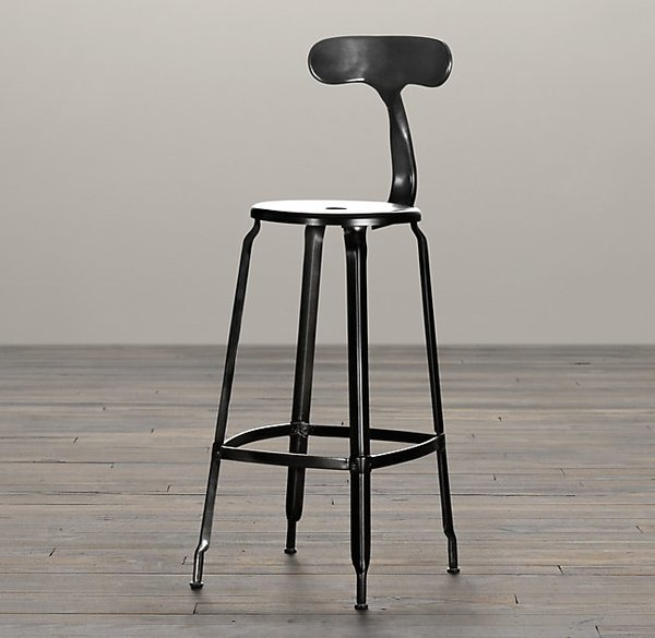 Restoration Hardware French T-Back Stool
