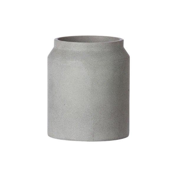 TRNK Light Grey Concrete Pot