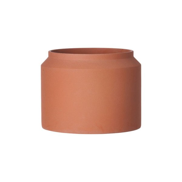 Ferm Living Ochre Concrete Pot