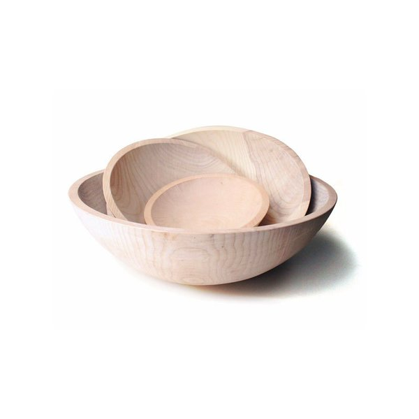 Coyuchi Crafted Wooden Bowl
