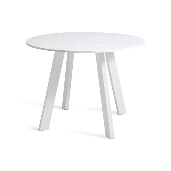 "Blu Dot Right Round 42"" Marble Dining Table"